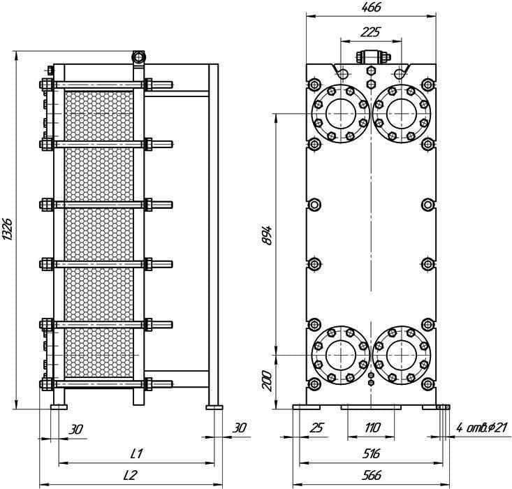 Пластинчатый теплообменник ЭТРА ЭТ-300 Артём Теплообменный аппарат КС 58 Одинцово
