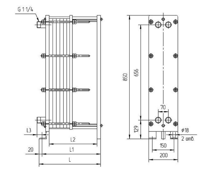 Теплообменники ridan характеристики Пластинчатый разборный теплообменник SWEP GX-91P Рыбинск