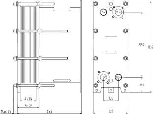Пластины теплообменника SWEP (Росвеп) GL-265S Артём Теплообменники пластинчатые SONDEX (S) Подольск