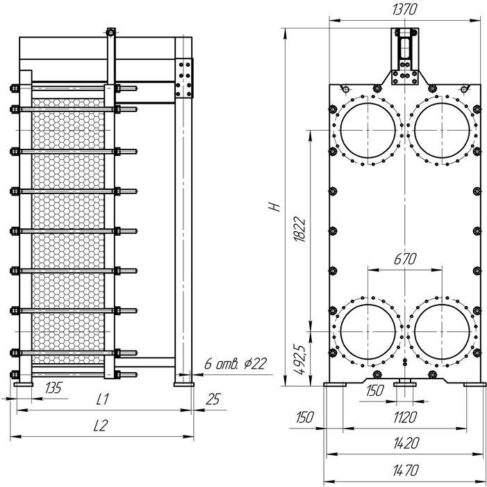 Пластинчатый теплообменник ЭТРА ЭТ-300 Артём Уплотнения теплообменника Alfa Laval TL3-BFG Обнинск
