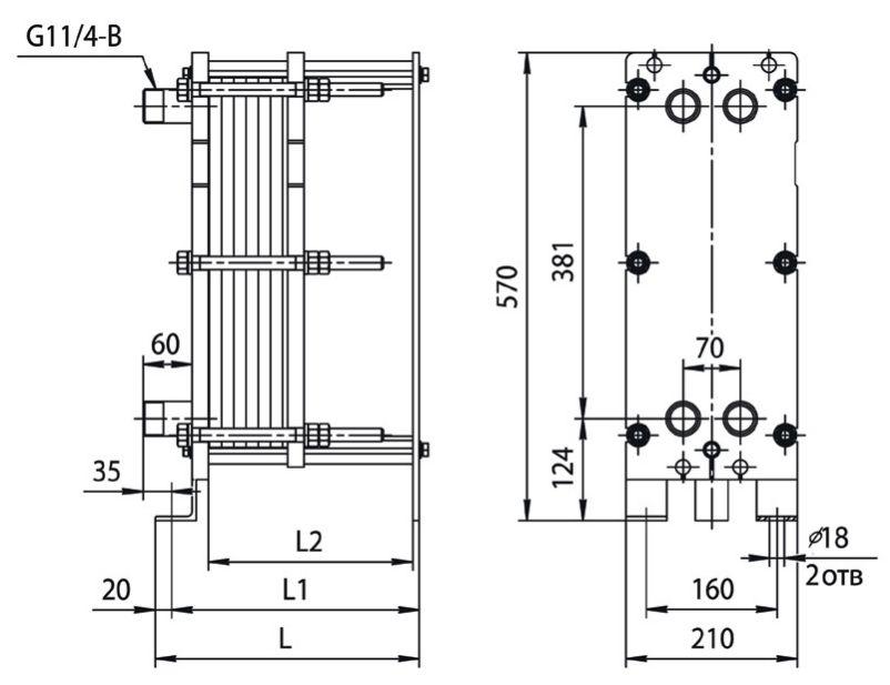 Уплотнения теплообменника Ридан НН 100 Стерлитамак Уплотнения теплообменника Tranter GX-051 N Серов