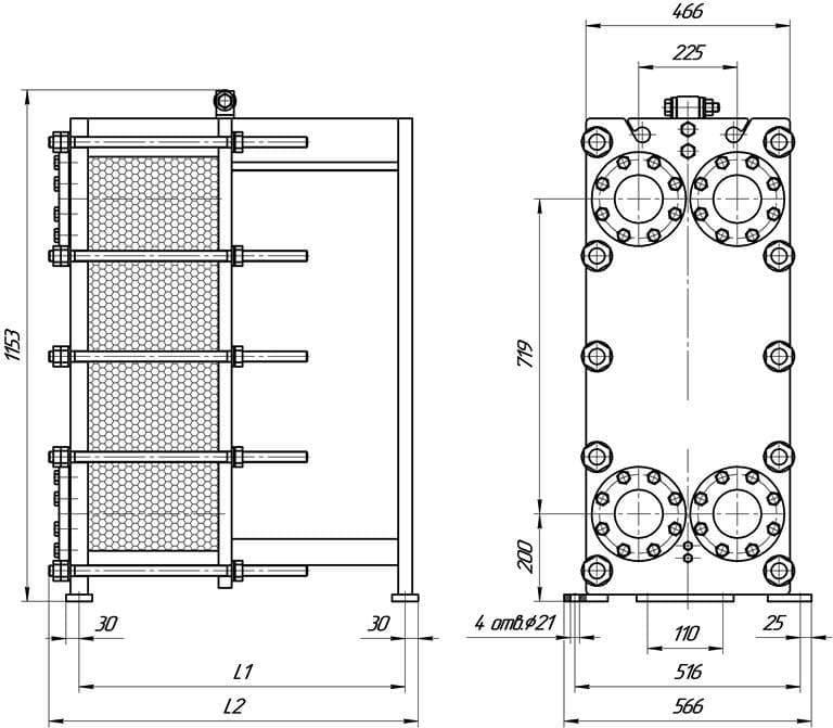 Пластины теплообменника КС 52 Калининград