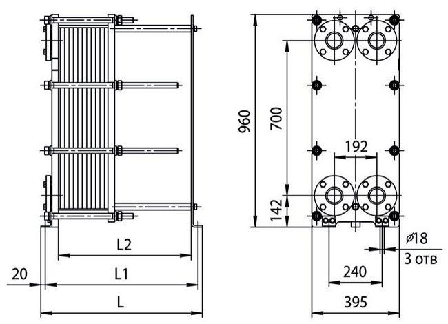 Пластины теплообменника Danfoss XGC-L013L Черкесск