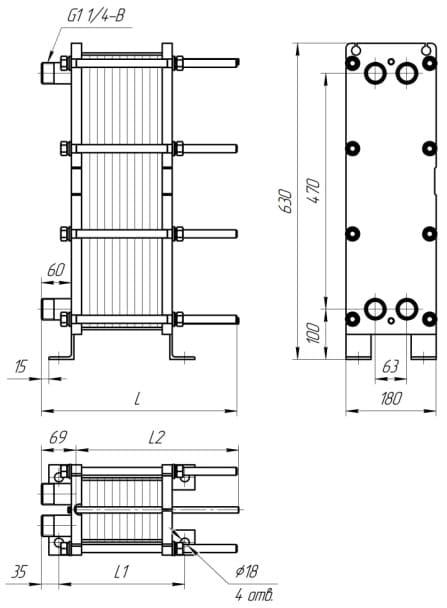 Теплообменник пластинчатый ридан нн 4а то замена теплообменника на аристоне