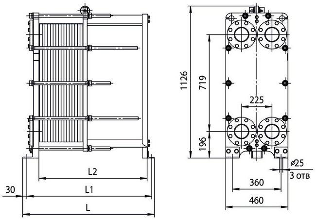 Теплообменник Ридан НН 14А Ду50 Артём Пластинчатый теплообменник Tranter GL-085 P Каспийск