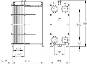 Пластины теплообменника SWEP (Росвеп) GL-330P Москва Пластинчатый разборный теплообменник SWEP GC-54N Шадринск