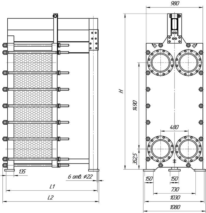 Уплотнения теплообменника Этра ЭТ-120 Артём расчет сетевых теплообменников