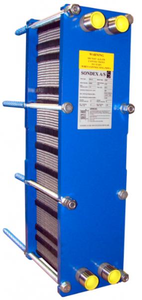 Пластинчатый теплообменник Sondex S8A (пищевой теплообменник) Соликамск Пластины теплообменника Tranter GD-013 P Минеральные Воды