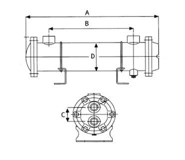 Кожухотрубный теплообменник сдвоенный Паяный теплообменник Alfa Laval AlfaNova 14 Глазов