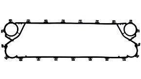 Пластинчатый разборный теплообменник SWEP GC-60P Шадринск горизонтальный теплообменник u