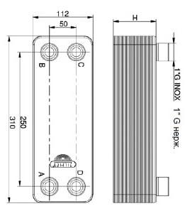 Кожухотрубный испаритель ONDA PE-G 15 Троицк