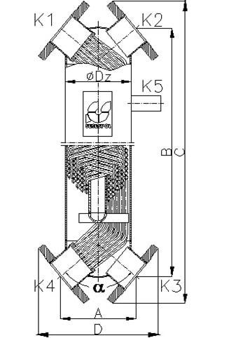 Кожухотрубный теплообменник Secespol JAD X(K) 12.114.08.50