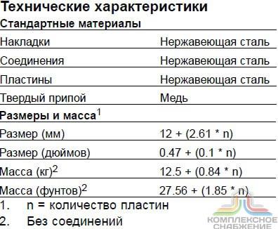 Пластинчатый теплообменник Теплохит ТИ 84 Минеральные Воды логарифмическая разность температур в теплообменнике