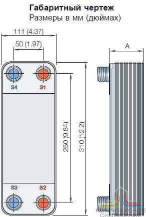 Пластины теплообменника Sondex SF150 Биробиджан