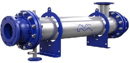 Кожухотрубный конденсатор Alfa Laval CRF164-6-XS 2P Невинномысск Паяный теплообменник-испаритель Машимпэкс (GEA) GBS 700AE Бийск