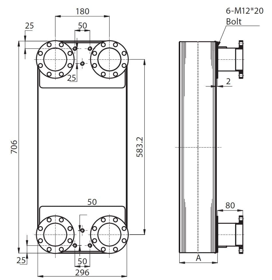 Паяный пластинчатый теплообменник Ридан XB66H Артём Разборный пластинчатый теплообменник Теплотекс 50M Зеленодольск