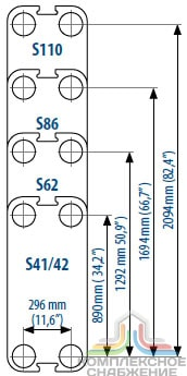 Пластины теплообменника Sondex S80 Москва теплообменники контактного