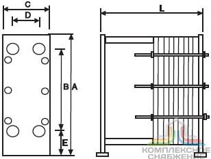 Пластины теплообменника Kelvion VT20VL Владивосток Кожухотрубный испаритель Alfa Laval DM3-516-3 Зеленодольск