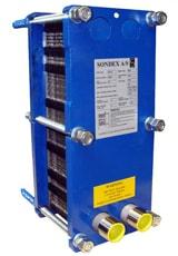 Уплотнения теплообменника Sondex SDN356 Москва как очистить теплообменник газового котла в домашних условиях