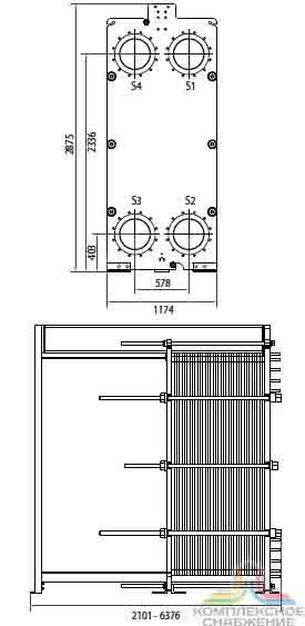 Уплотнения теплообменника Alfa Laval TM20-B FKR Артём Паяный теплообменник испаритель GEA CHA 50-UM Электросталь