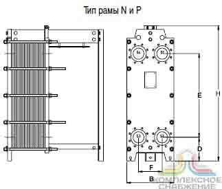 Уплотнения теплообменника Tranter GL-013 PI Рыбинск