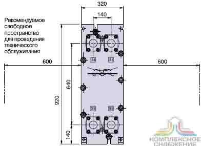 Alfa laval m6 mfg технические характеристики Полусварной теплообменник Thermowave thermolineVario TL-250 Салават