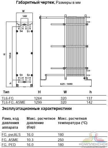 Теплообменник пластинчатый alfa laval tl6 bfg Пластинчатый теплообменник Alfa Laval T20-BFG Новотроицк