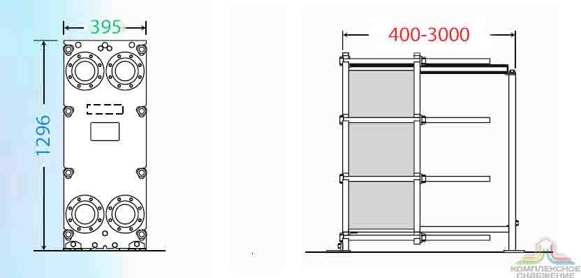 Пластины теплообменника Анвитэк A3M Москва Паяный пластинчатый теплообменник SWEP B57 Рязань