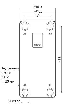 Паяный теплообменник HYDAC HEX S722-60 Артём Пластины теплообменника Tranter GX-265 N Уссурийск