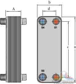 Теплообменник alfa laval cb76 50h характеристики Кожухотрубный испаритель ONDA HPE 306 Калининград