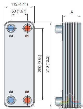 Альфа лаваль cb14 20h Паяный теплообменник Alfa Laval ACH18 Оренбург