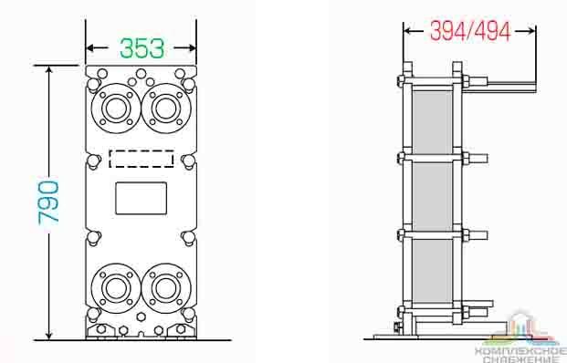Пластины теплообменника Анвитэк A3M Москва теплообменники для гвс в частный дом
