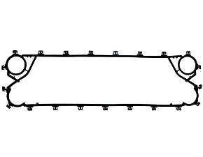 Уплотнения теплообменника Теплохит ТИ 14,6 Минеральные Воды Кожухотрубный затопленный испаритель ONDA FLS & FLT Балашов