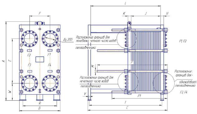 Пластинчатый теплообменник ТИ60