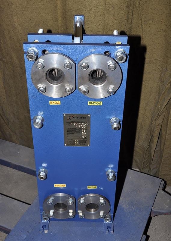 Пластинчатый теплообменник Анвитэк ATX-40 Шахты альфа лаваль м10 размеры под ключ